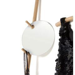 runder Spiegel zum Aufhängen, d: 25 cm