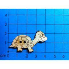 Knopf: Schildkröte 40 mm