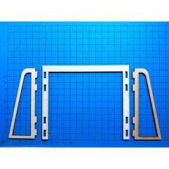 Fußballtor; Bausatz 140 mm