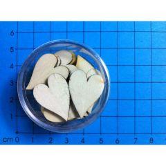 Herzen voll länglich 16 mm in Dosen ca. 20 Stück