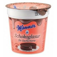 Manner Schokoladenglasur für Sacher Torte