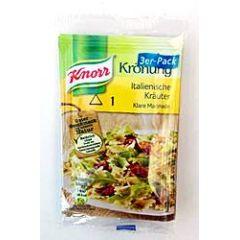 Knorr Salat Krönung - Italienische Kräuter 3 x 9g
