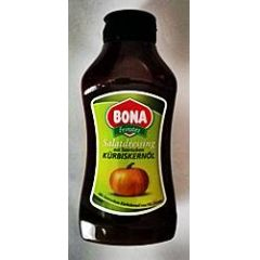 Bona Salatdressing mit steirischem Kürbiskernöl