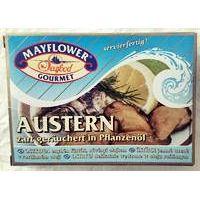 Mayflower Austern zart geräuchert