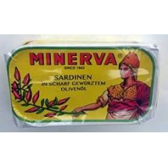 Minerva Sardinen in scharf gewürztem Olivenöl