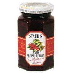 Staud´s Fruchtaufstrich Preiselbeer 70% Frucht