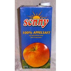 Sonny 100% Apfelsaft 1 ltr.