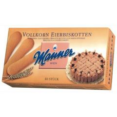 Manner Eierbiskotten Vollkorn 40Stk 200g