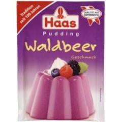 HAAS Pudding Waldbeer - Geschmack
