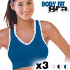 Body Fit Bra Sport BHs (3 Stück), S