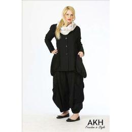 AKH Fashion Lagenlook Hose aus Leinen