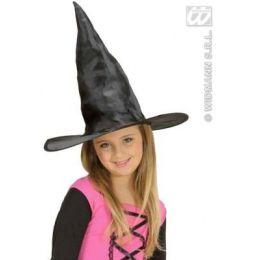 Hexenhut schwarz für Kinder - Fasching Karneval Halloween