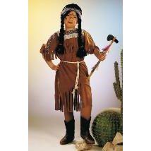 Indianerin - Kleid - Kinderkostüm - Karneval Fasching - Kleine Squaw