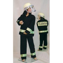 Kostüm - Feuerwehr-Uniform für Kinder (Hose und Jacke) Gr. 128