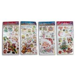 Sticker - Aufkleber - Wandsticker - Weihnachtsmotive ca. 60 x 32,5 cm