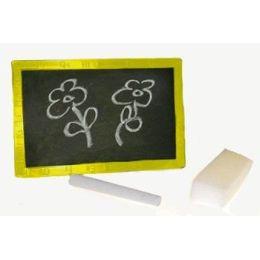 Tafel - Schreibtafel - Maltafel für Kinder mit Kreide und Schwamm - 9 x 14 cm