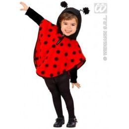 Kostüm - Cape Marienkäfer für Kinder - sehr niedlich Gr. 98