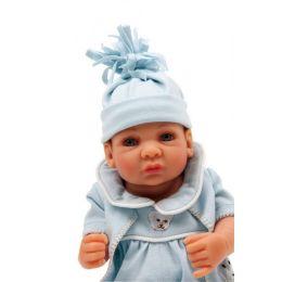Puppe mit Decke - Baby-Puppe Daniel - beweglich