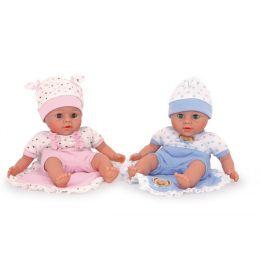 Puppen - Geschwisterpaar Christian & Carla - mit Schlafaugen - 2 Stück = 1 Preis