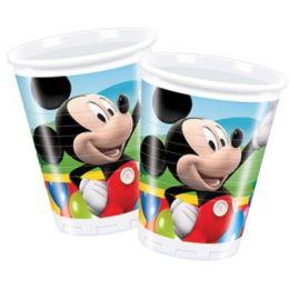 Becher Micky Maus - Plastikbecher - 0,2 l - 10 Stück