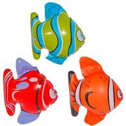Fische aufblasbar - 3 Stück im Set - ca. 20 cm