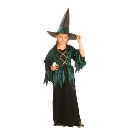 Kostüm  - Hexe gothic luxe für Kinder - ca. 4-6 Jahre mit Hut