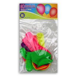 Ballons NEON ca. 75 cm Umfang - 10 Stück im Beutel