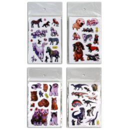 Sticker - Aufkleber - Katzen, Hunde, Dino, Pferd