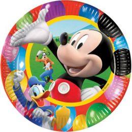 Pappteller - Teller - Micky Maus - 10 Stück - ca. 22 cm