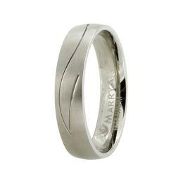 Ring aus Titan ohne Stein mit mattierter Oberfläche, Titanring für Damen oder Herren