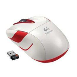 Logitech Maus Wireless Mouse M525 White / Drahtlos / Optisch / Unifying-Empfänger