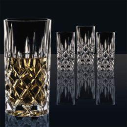 Longdrink Noblesse 4er Set Barglas Cocktailgläser Sektgläser Trinkgläser Kristallglas Germany
