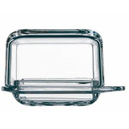 Butterdose klein Brunch single Butter dish Glas Crystal Butter-Dose Butteraufbewahrung Kristal