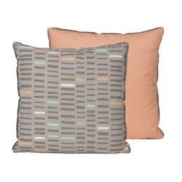 Kissen Boogie Woogie Bezug Baumwolle Sofa design bunt Kopfkissen dekorative Dekokissen kissenhülle