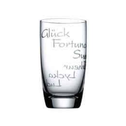 Gläser Set Waterbalance Glück 2 Stück Trinkglas Trinkgläser Esoterik Meditation Becher Wasserenergie