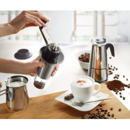 Kaffeemühle Lorenzo Kaffee Kaffeepulver Cofemaker Espressomühle Kaffeebohnen Kaffee mahlen Mahlwerk
