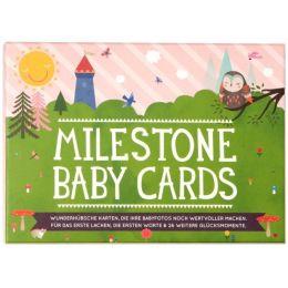 Baby Cards Fotokarten Babytagebuch Karten Momente festhalten Fotoalbum