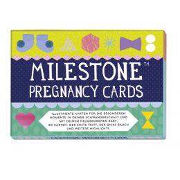 Pregnancy Cards Kartenset Schwangerschaft Wochenbett Momente festhalten Fotokarten