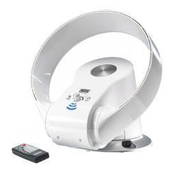 AIR JOY Cool Tisch- und Wandventilator weiß Standventilator Ventilator mit Fernbedienung rotorlos