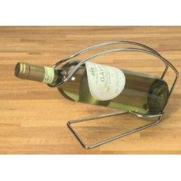 Flaschenwiege Flaschenhalter 0,7 l Chrom Halter Flaschen Wiege