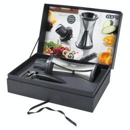 Spirelli XL Premium Set Spiralschneider Sparschäler Gemüseschneider 13700 Gefu 13650 Geschenkset