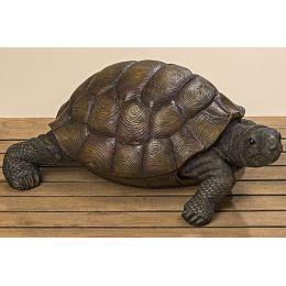 Schildkröte 50 cm groß Gartendekoration Gartendeko Garten Dekoration Gartenfigur Tierfigur Dekofigur