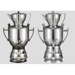 Samowar 3003 Teekocher Teezubereiter Samovar Teemaschine Teekanne Tee zubereiten Wasserkocher