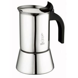 Espressokocher Venus Edelstahl Induktion Mokkakocher Espressokanne Mokkakanne Mokakocher