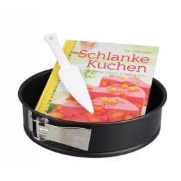 Dr. Oetker Schlanke-Kuchen-Set Backform Kuchenform 26 cm Backset Kuchenlöser Backbuch