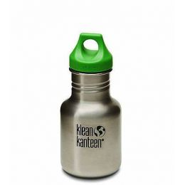 Sportflasche Edelstahl Kid Classic Trinkflasche 355 ml Loop Cap Kinder Kinderflasche
