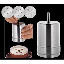 Dekorierstreuer Choco Latte Streuer Cappuccino Kaffee Kakaostreuer Kakao Kaffeedeko