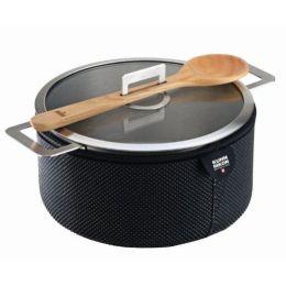 Kuhn Rikon Servierkasserolle Cook & Serve 4 Liter Kochtopf Kochgeschirr Servierpfanne Servierschüsse