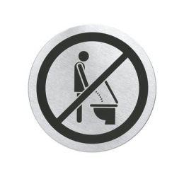 """Türschild """"Bitte setzen"""" Schild Klo Toilette WC 68146"""