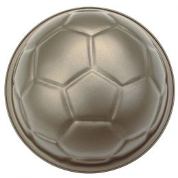 Backform Pepe, der Fußball, mit 5-Eck-Ausstechform backen Form Kuchenform Kuchen Teigform Springform